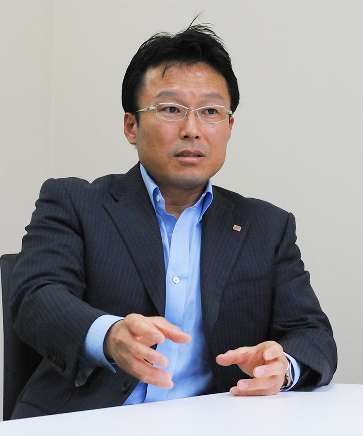 ジューテックホールディングス株式会社 情報システム部 部長 岡城 秀宣氏