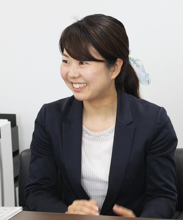 開発企画部 リーダー 鋤納 麻衣子氏
