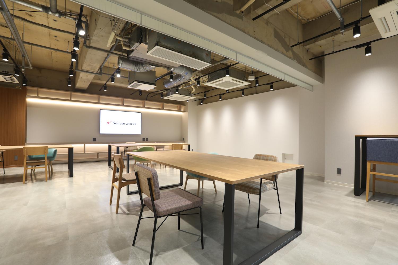 サーバーワークス、2019年8月にオフィスを拡張 「コミュニケーション促進」に特化したオフィス設計