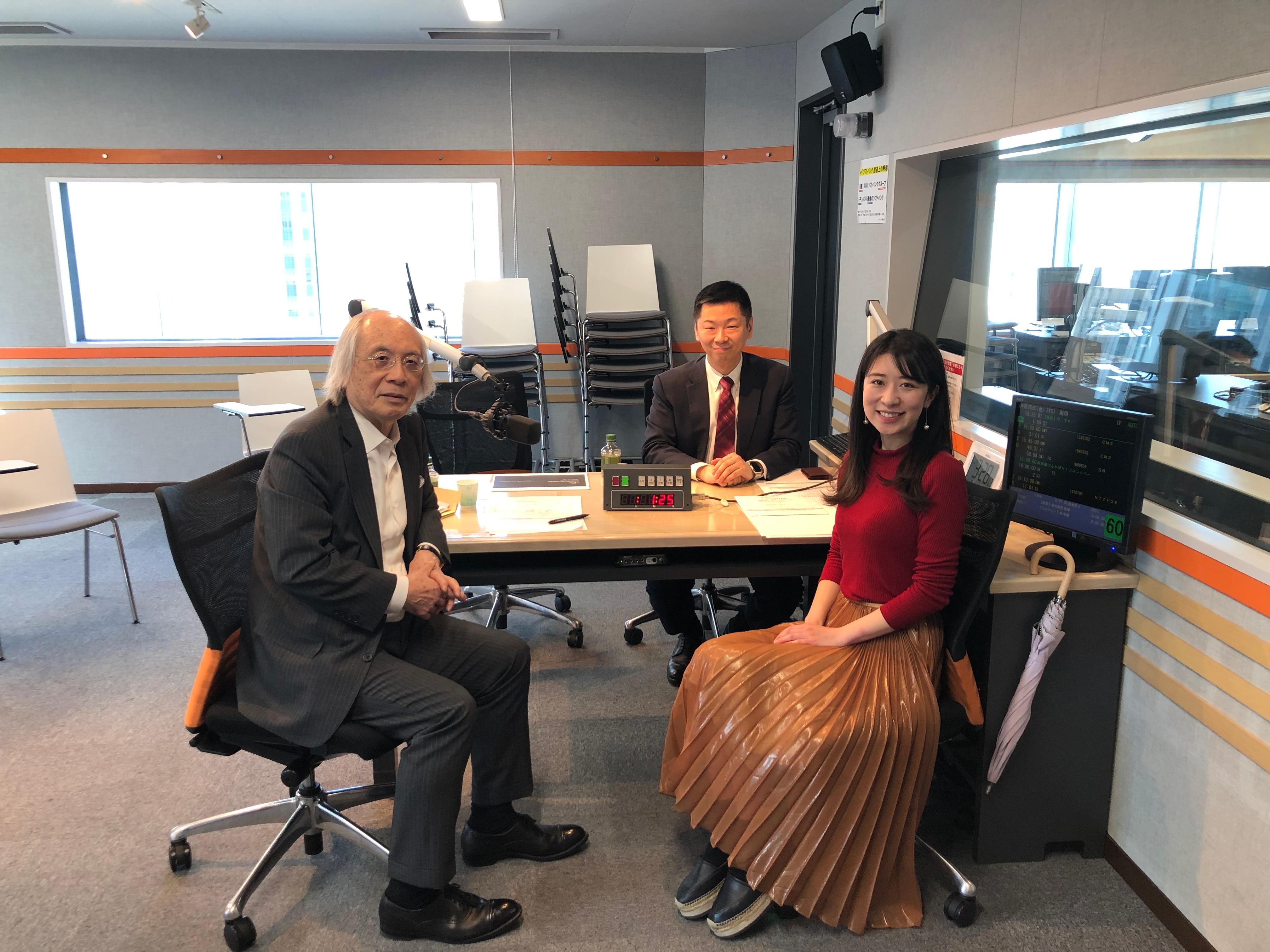 大石がラジオNIKKEI「菅下清廣の有望成長企業を探せ!」にゲスト出演いたします